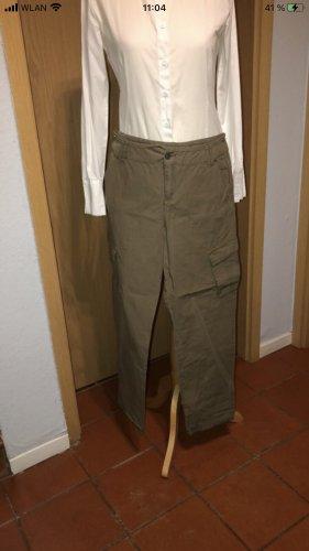 Promod Cargo Pants green grey