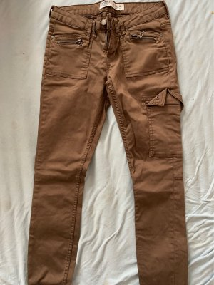 Primark Cargo Pants bronze-colored