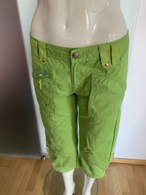 Only 7/8 Length Trousers neon green