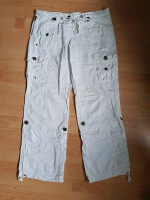 Modo Pantalón de camuflaje blanco