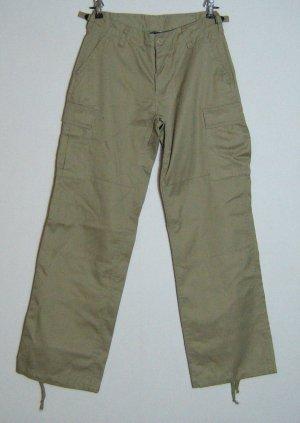 Cargo Jeans Baggy Skater Größe 34 Beige