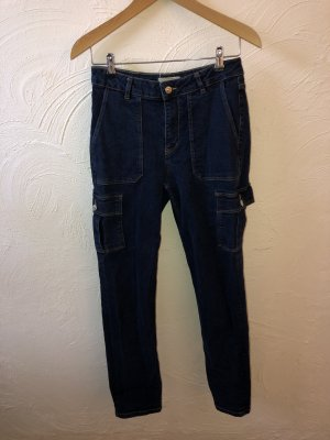 Pimkie Baggy jeans donkerblauw