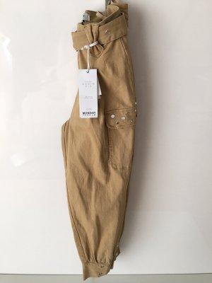 Monday Premium Jeans stretch brun sable