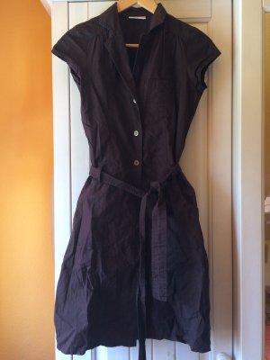 Cargo Kleid mit Knopfleiste und Taillengürtel