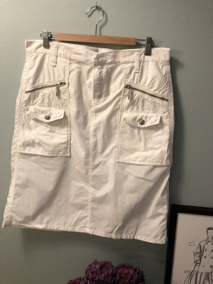 Marc O'Polo Cargo Skirt white cotton