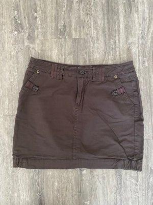 Street One Cargo Skirt taupe-dark brown
