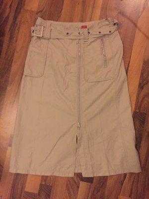 Esprit Cargo Skirt beige