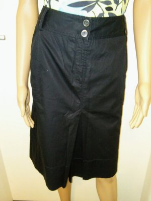 s. Oliver (QS designed) Cargo Skirt black cotton