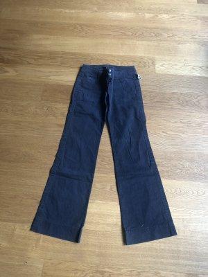Cinque Pantalón de camuflaje azul oscuro