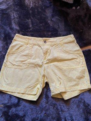Cargo Shorts kurz gelb