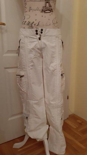 Timezone Pantalone cargo bianco