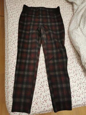 C&A Pantalon cargo gris-brun rouge