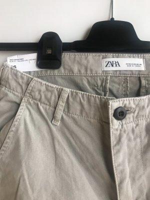 Zara Cargo Pants light grey-grey