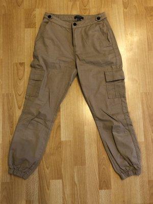Atmosphere Pantalon cargo marron clair