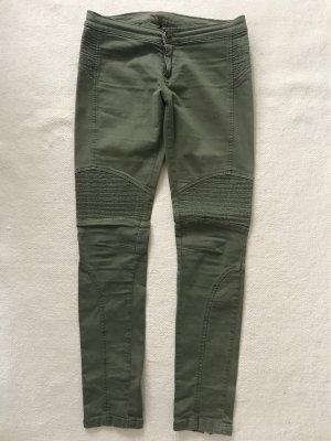Twin set Bojówki zielono-szary-oliwkowy