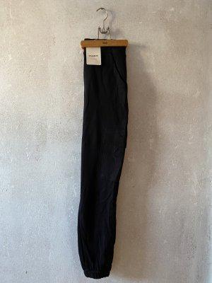 Pull & Bear Pantalón de camuflaje negro