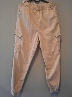 H&M Divided Cargo Pants beige