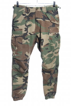 Cargohose Camouflagemuster Casual-Look