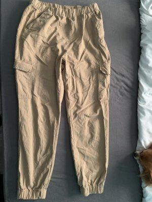 H&M Pantalone cargo beige-color carne