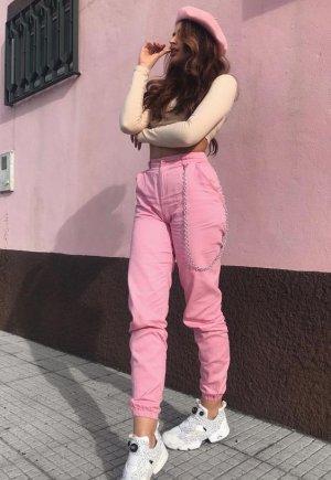 Cargohose bershka Pink/rosa