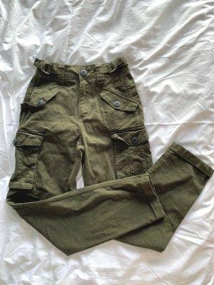 Cargohose Grün Armeegrün Khaki   Blogger
