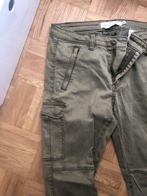 H&M L.O.G.G. Pantalon cargo multicolore