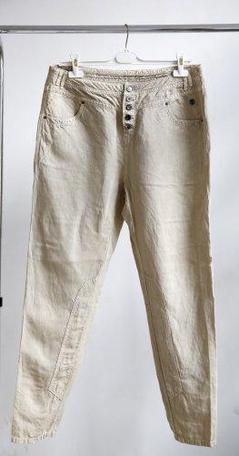 Summum Pantalone cargo beige chiaro