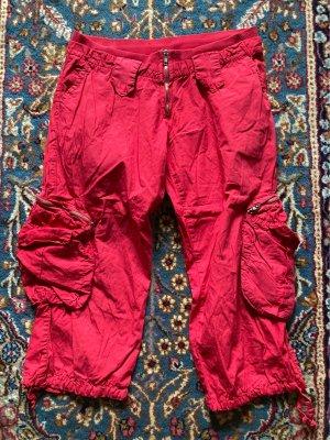 Please Cargo Pants dark red