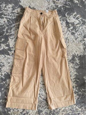 Monki Pantalone cargo color carne