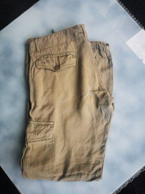 Denny Rose Cargo Pants ocher mixture fibre