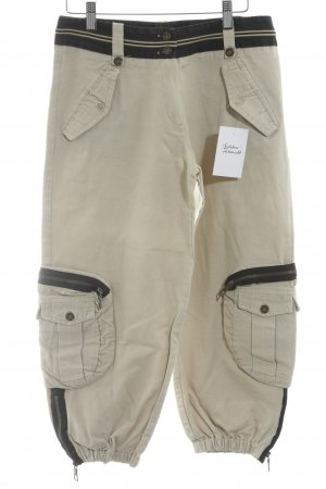 Pantalon cargo brun sable