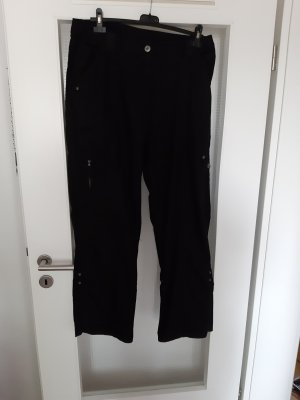 Canda Cargo Pants black cotton