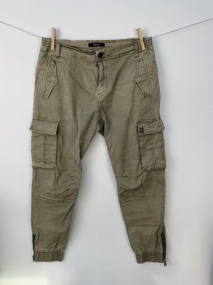 Replay Pantalon cargo gris vert