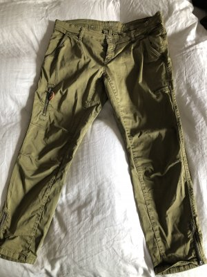 MAC Jeans Cargo Pants olive green