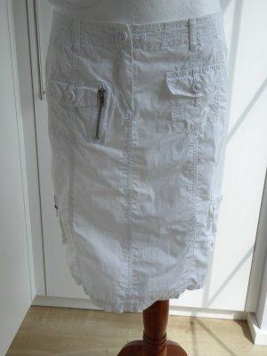 Vero Moda in Blue Spódnica militarna biały Bawełna