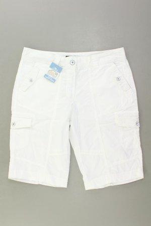 Pantalon cargo blanc cassé coton