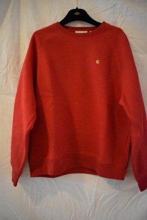 Carhartt Sweatshirt jaune-rouge coton