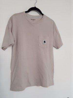 Carhartt T-shirt rosa antico Cotone