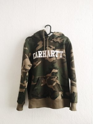 Carhartt Camouflage hoodie Pullover Xs