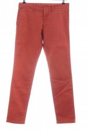 Carhartt Pantalon chinos rouge style décontracté