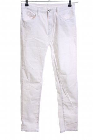 Carhartt Hoge taille jeans wit casual uitstraling