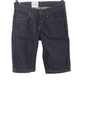 Carhartt Hot Pants blue casual look