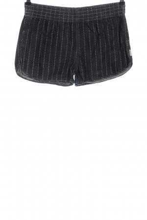 Carhartt Hot pants nero-grigio chiaro stampa integrale stile casual