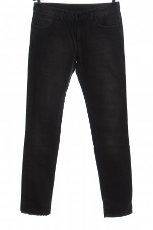 Carhartt Jeans vita bassa nero stile casual