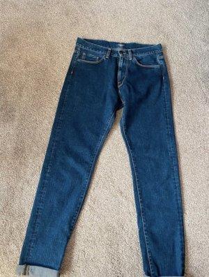 Carhartt Boyfriend Trousers dark blue-blue