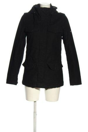 Carhartt Giacca con cappuccio nero stile casual