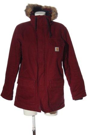 Carhartt Giacca con cappuccio rosso stile casual