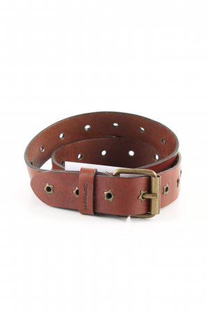 Carhartt Leather Belt brown casual look