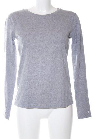 Carhartt Top à manches longues gris clair moucheté style décontracté