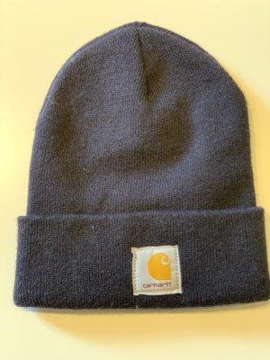 Carhartt Sombrero de tela azul oscuro-naranja claro